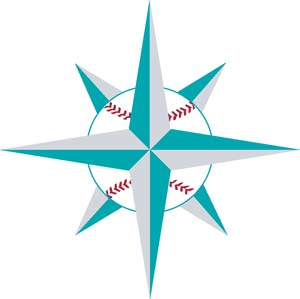 Seattle Mariners decal 97