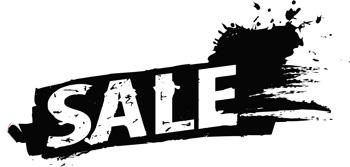 Sale Window Decal