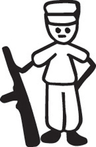 Stick Family Soldier
