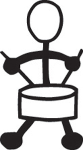 Stick Family Drummer Boy