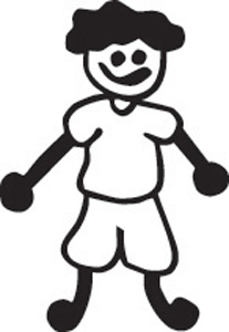 Stick Family Boy 14