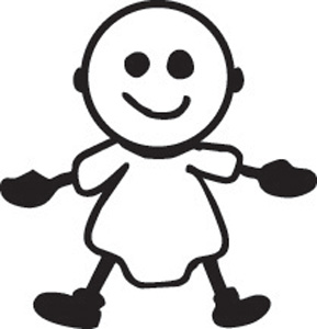 Stick Family Baby 1