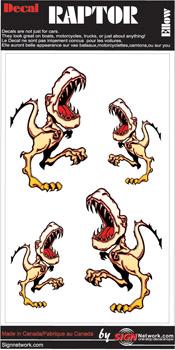 Yellow Raptor Set